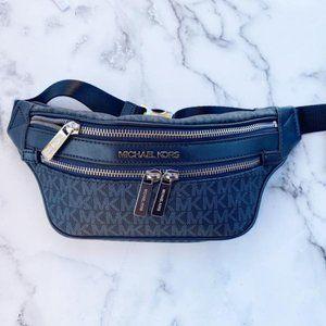 Michael Kors Kenly Small Belt Bag Admiral Blue